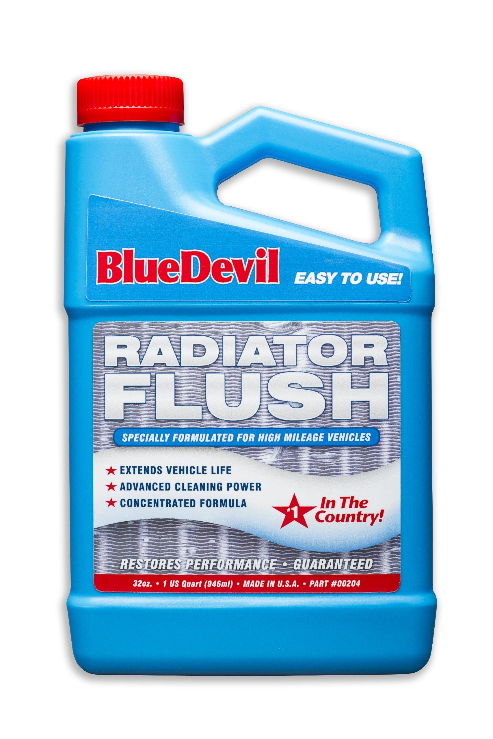 Blue Devil Radiator Flush - 32 Ounce (00204)