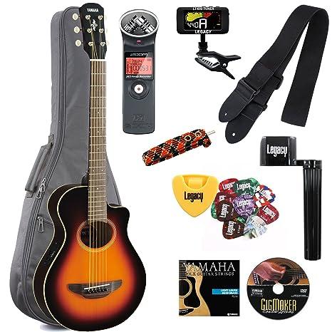 Yamaha APXT2 Guitarra eléctrica 3/4 tamaño de guitarra electroacústica Cutaway Guitarra con Legado accesorio