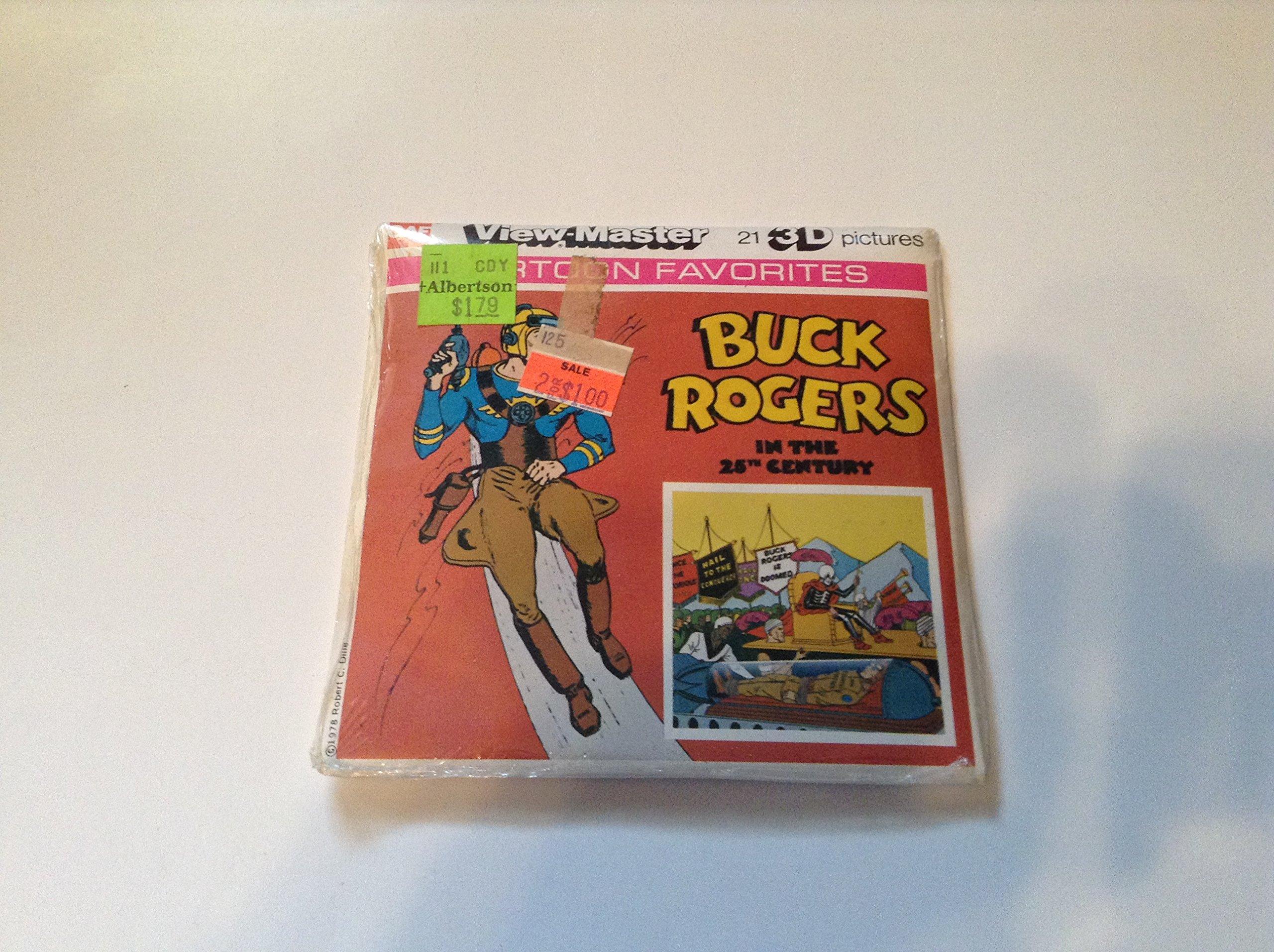 View-Master J1 Buck Rogers in the 25th Century Children/'s 3 Reel Set Cartoon