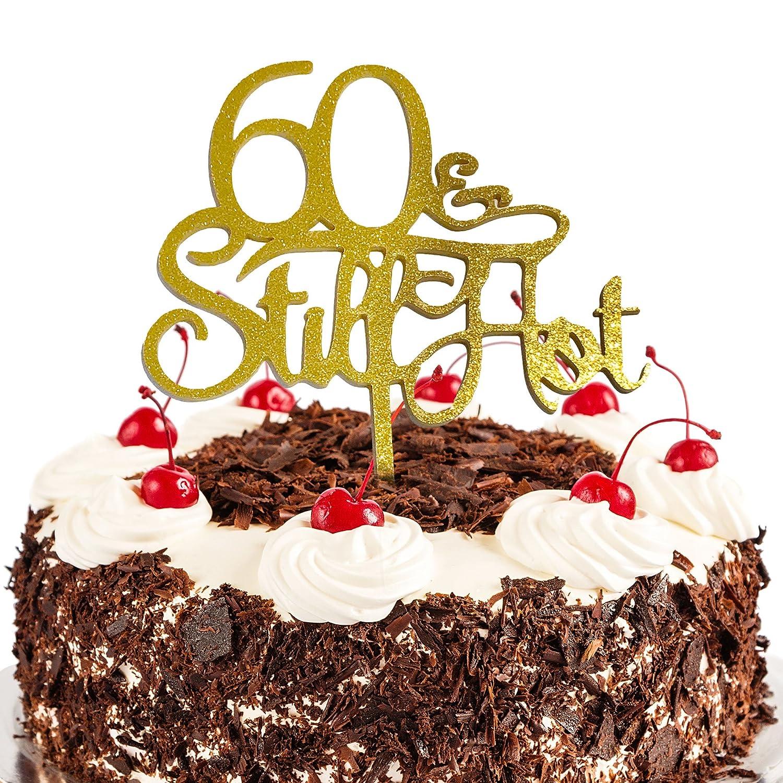 JennyGems 60th Birthday Cake Topper