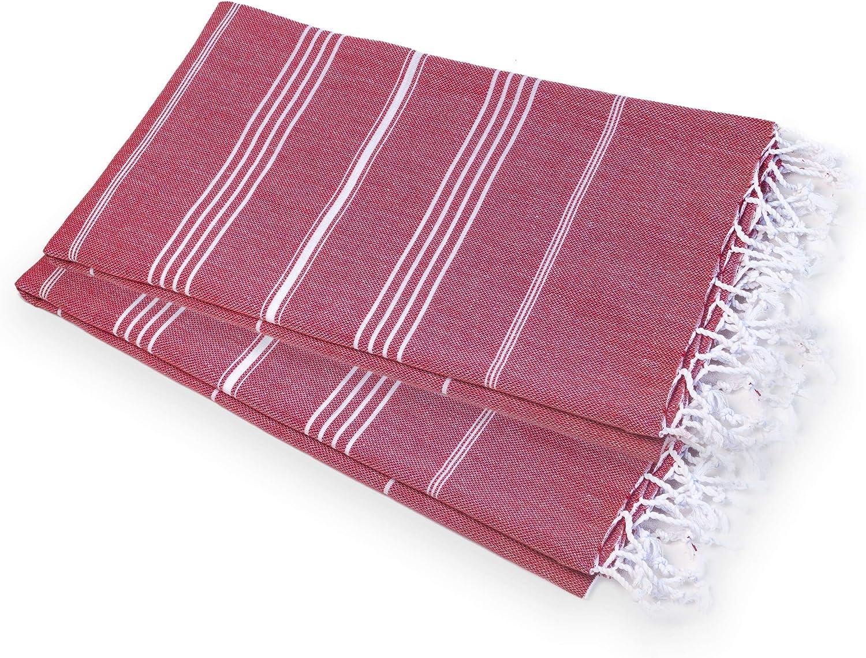 50x90 cm Grande 50x90 cm suave y vers/átil yoga y toallas de playa Toalla de mano turca peshtemal hammam toalla de cocina ideal para sauna Gris spa