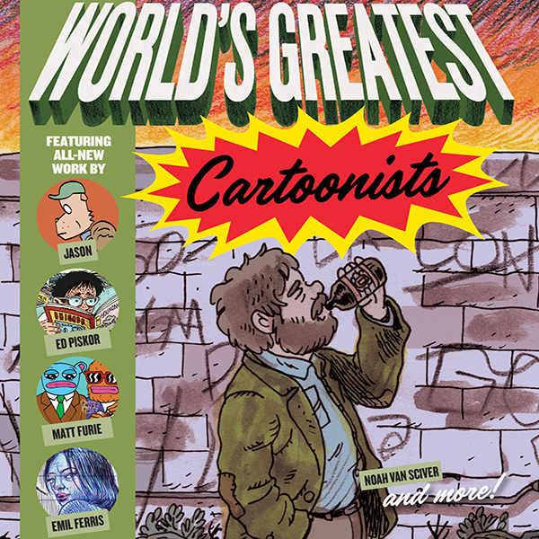FCBD World's Greatest Cartoonists (Issues) (2 Book Series)