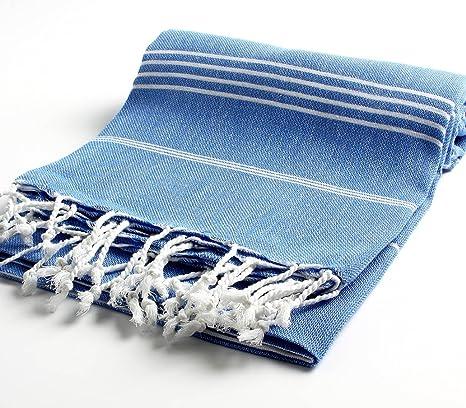 Toalla de baño turca 100% algodón puro, toalla de ducha