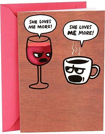 Hallmark Shoebox Funny Birthday Card For Her Wine And Coffee