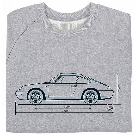 PistonHeads 933 Sports Car Sudadera de cuello redondo, Para hombre: Amazon.es: Ropa y accesorios