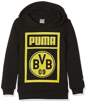 3140c5a8fe Puma Kinder BVB Shoe Tag Hoody Jr Sweatshirt: Amazon.de: Sport ...