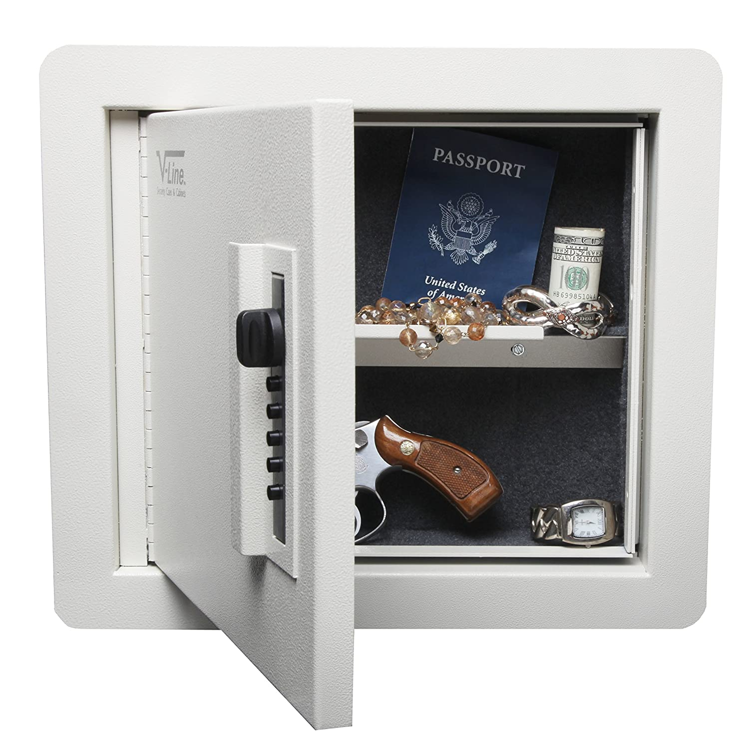 amazoncom vline quick vault locking storage for guns and valuables sports u0026 outdoors