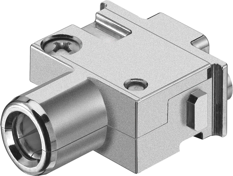 09140012733 Han-Modular Series Screw Socket Receptacle 1 Contact Module Heavy Duty Connector
