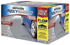 Rust-Oleum 261845 EpoxyShieldGarage Floor Coating , 2 gal, Gray