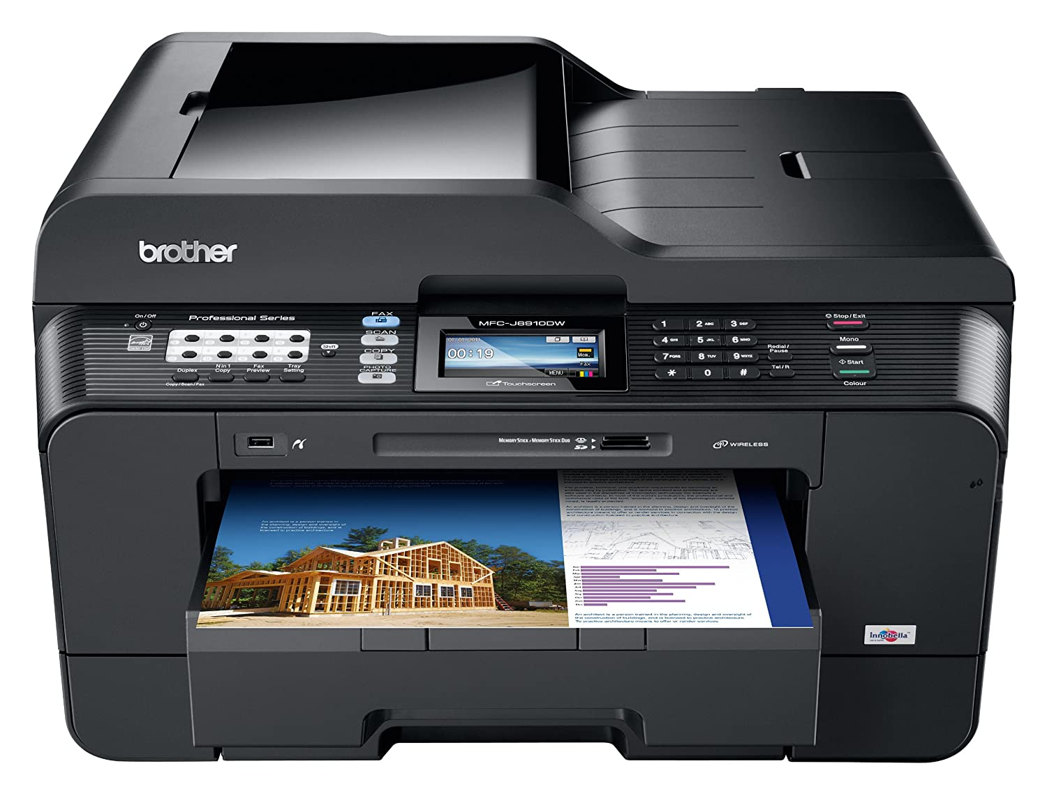 BROTHER MFC-J6910DW PRINTERSCANNER DRIVERS FOR WINDOWS 8