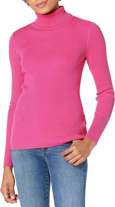 Amazon Essentials Women's Slim-fit Lightweight Long-Sleeve Turtleneck Sweater