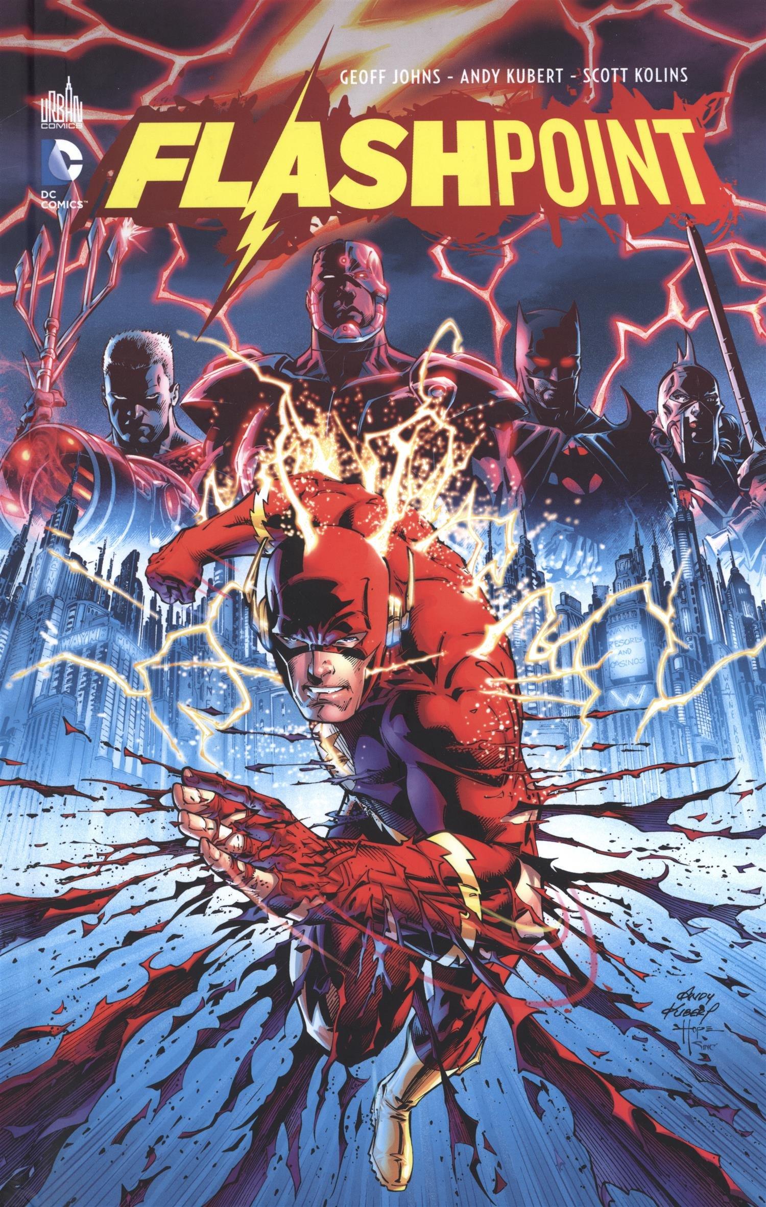 Flashpoint Album – 3 avril 2015 Johns Geoff Kubert Andy Urban Comics 2365777627
