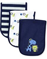 Gerber Baby Boys' 3 Pack Terry Burp Cloths