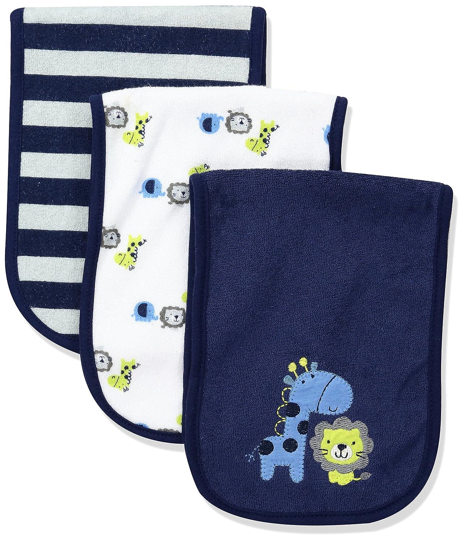 Gerber Baby Boys' 3 Pack Terry Burp Cloths Safari One Size Gerber Children' s Apparel 95681316AB17OSZ