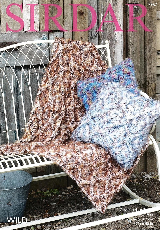 Sirdar 7967 patrón para tejer accesorios para el hogar ...