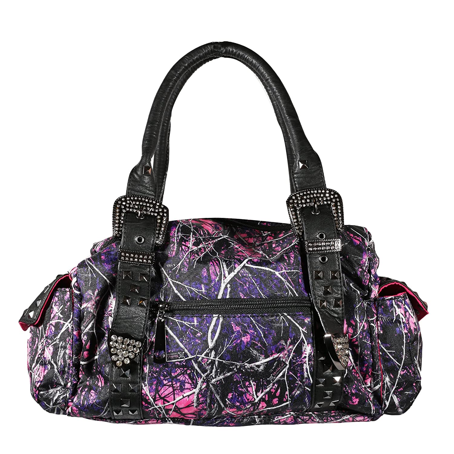 Muddy Girl Concealed Handgun Satchel Camouflage Purse