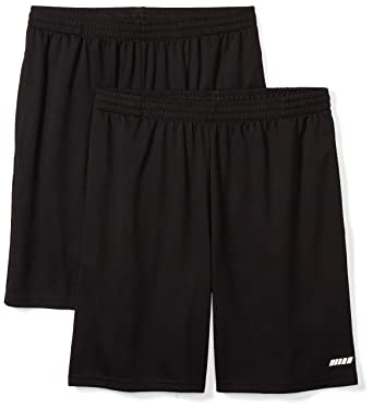 e3aa31f34 Amazon.com: Amazon Essentials Men's 2-Pack Loose-Fit Performance Shorts:  Clothing