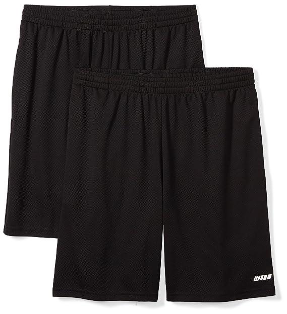 a7c7707fb54c0 Amazon Essentials Men's 2-Pack Loose-Fit Performance Shorts