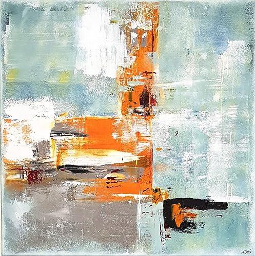 50x50cm Malerei Acryl Auf Leinwand Moderne Abstrakte Kunst