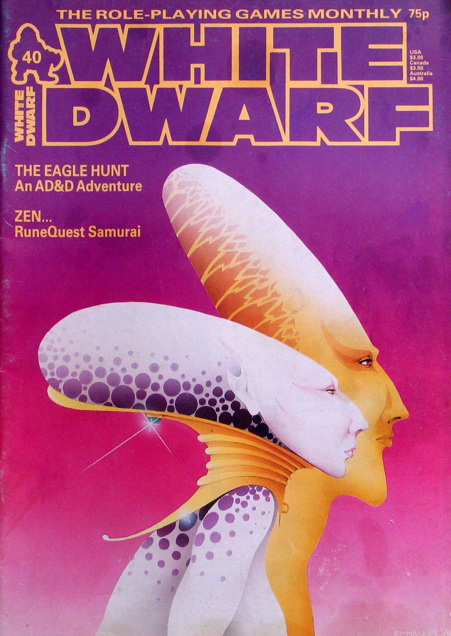 White Dwarf Magazine, Issue 40: Amazon.com: Books
