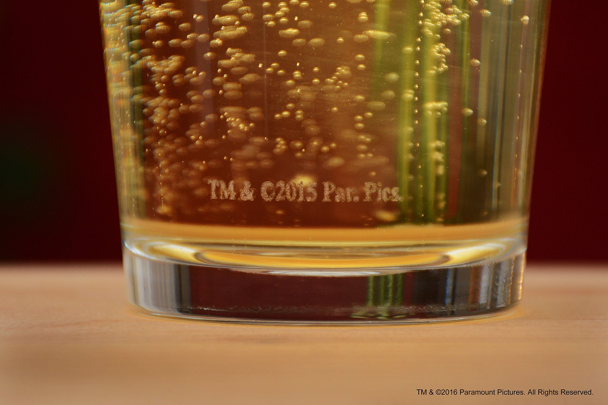 The Godfather Movie Pint Glass Godparent Gift Officially Licensed Collectible Premium Etched By Movies On Glass 16…