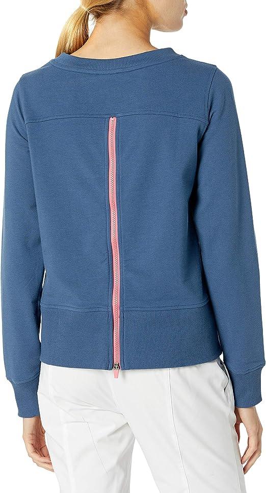 PGA TOUR womens Fleece Full-zip Sweater