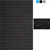 Non-Slip Traction Pad Deck Grip Mat 30in x 20in Trimmable EVA Sheet 3M Adhesive for Boat Kayak Skimboard Surfboard SUP Black/Blue/Gray/White