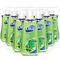 Deals on 12-Pack Dial Antibacterial Liquid Hand Soap, Aloe 7.5 Fl Oz