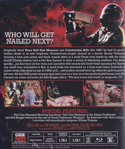 Amazon.com: Nail Gun Massacre: Rocky Patterson, Ron Quen, Beau ...
