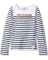 Tommy Hilfiger Girls' Breton Knit Top