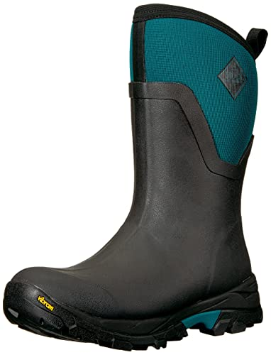 6e05dc4870c91 Muck Arctic Ice Extreme Conditions Mid-Height Rubber Women's Winter Boots  with Arctic Grip Outsole