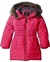 Calvin Klein Girls' Everest 3/4 Length Puffer Jacket