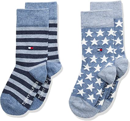 Pack de 2 Tommy Hilfiger calcetines Unisex ni/ños