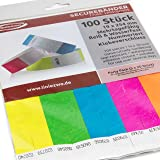 picture relating to Tyvek Wristbands Printable titled Cinta Printable Wristbands - 100 ct. pack - Laser Printer