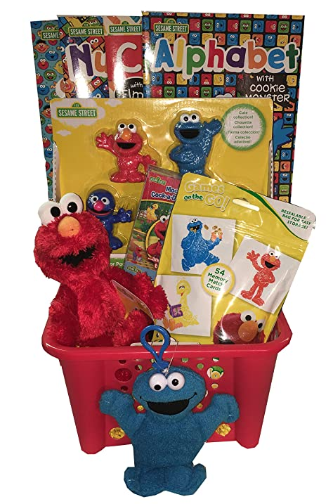 Elmo Sesame Street Learning Gift Basket