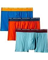 Jack & Jones Men's Jjsimple Trunks 3 Pack Boxer Shorts