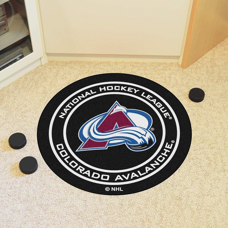 FANMATS NHL Colorado Avalanche Nylon Face Starter Rug