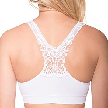 44d4f8ee57dc1 Image Unavailable. Image not available for. Color  Seamless Butterfly Back  Bra – Pullover ...