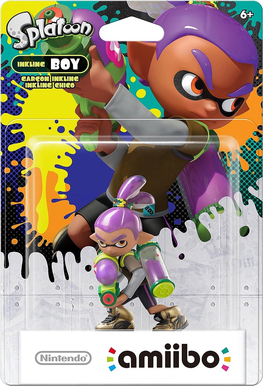 Amazon.com: Nintendo Inkling Boy (Alt Color) amiibo ...