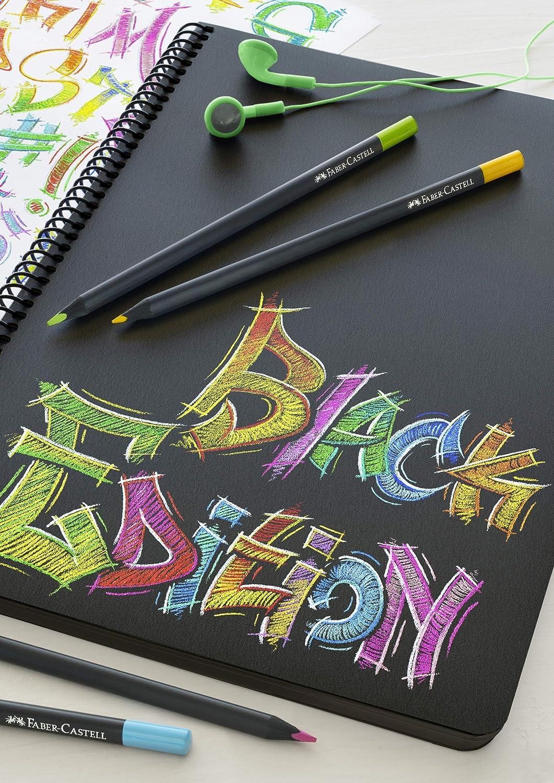 Faber-Castell Blackwood - Lápices de colores estuche de 12: Amazon.es: Oficina y papelería