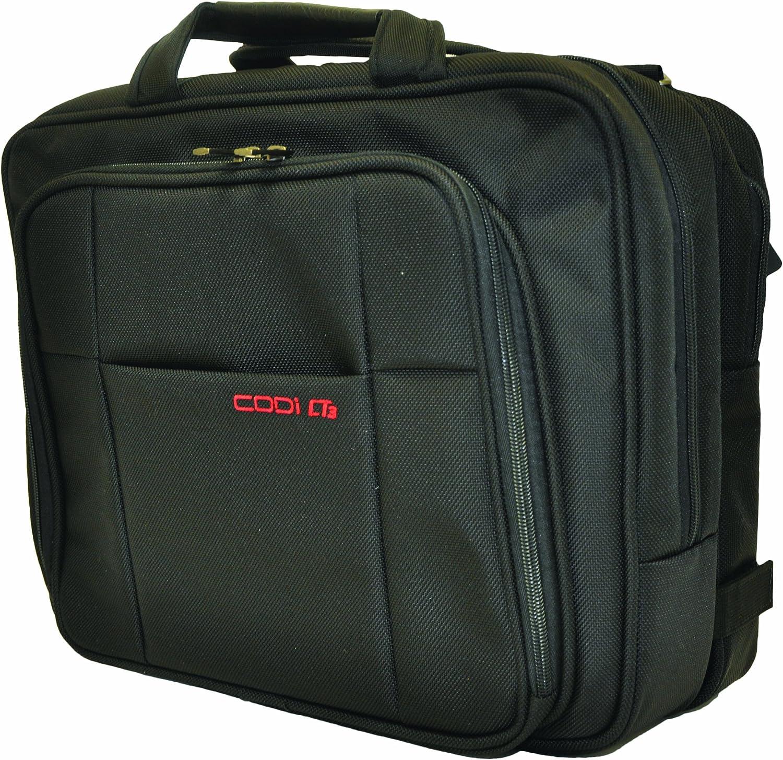 CODi CT3 Checkpoint Tested Phantom Laptop Case, Black
