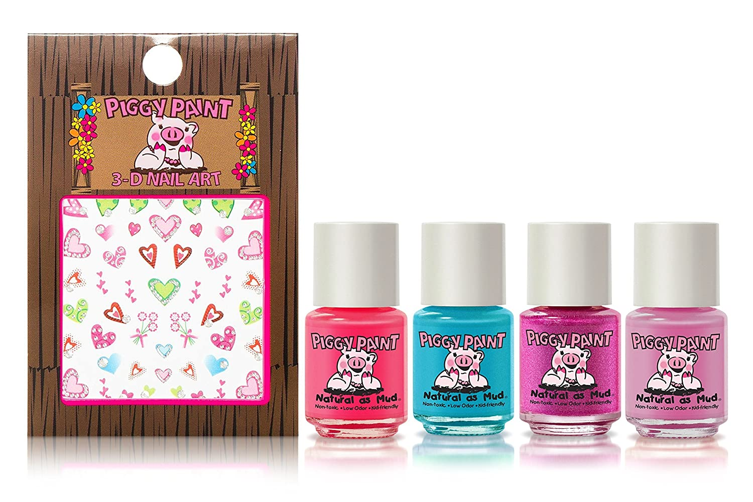 Amazon.com : Piggy Paint - 100% Non-toxic Girls Nail Polish, Safe ...