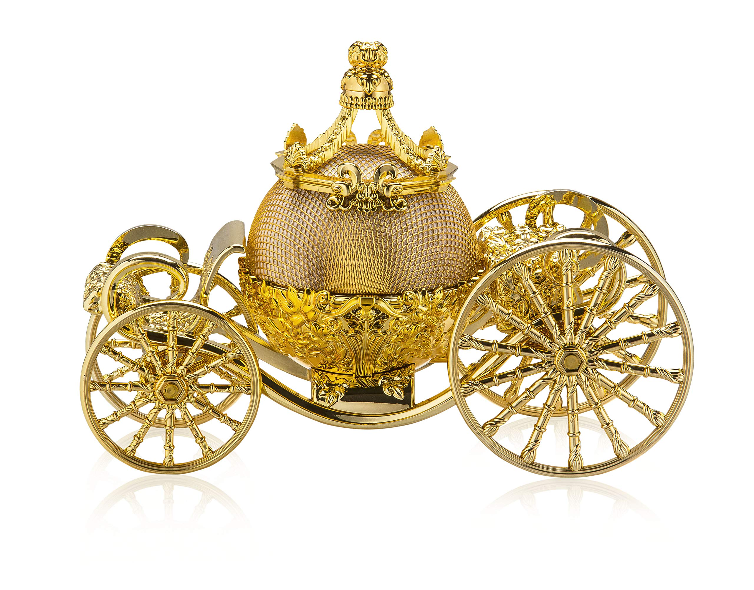 Cinderella Carriage Bluetooth Speaker, Stylish Speakers Bluetooth Wireless for Audio Streaming, Ideal Portable Speaker, Perfect Cinderella Accessories for Girls