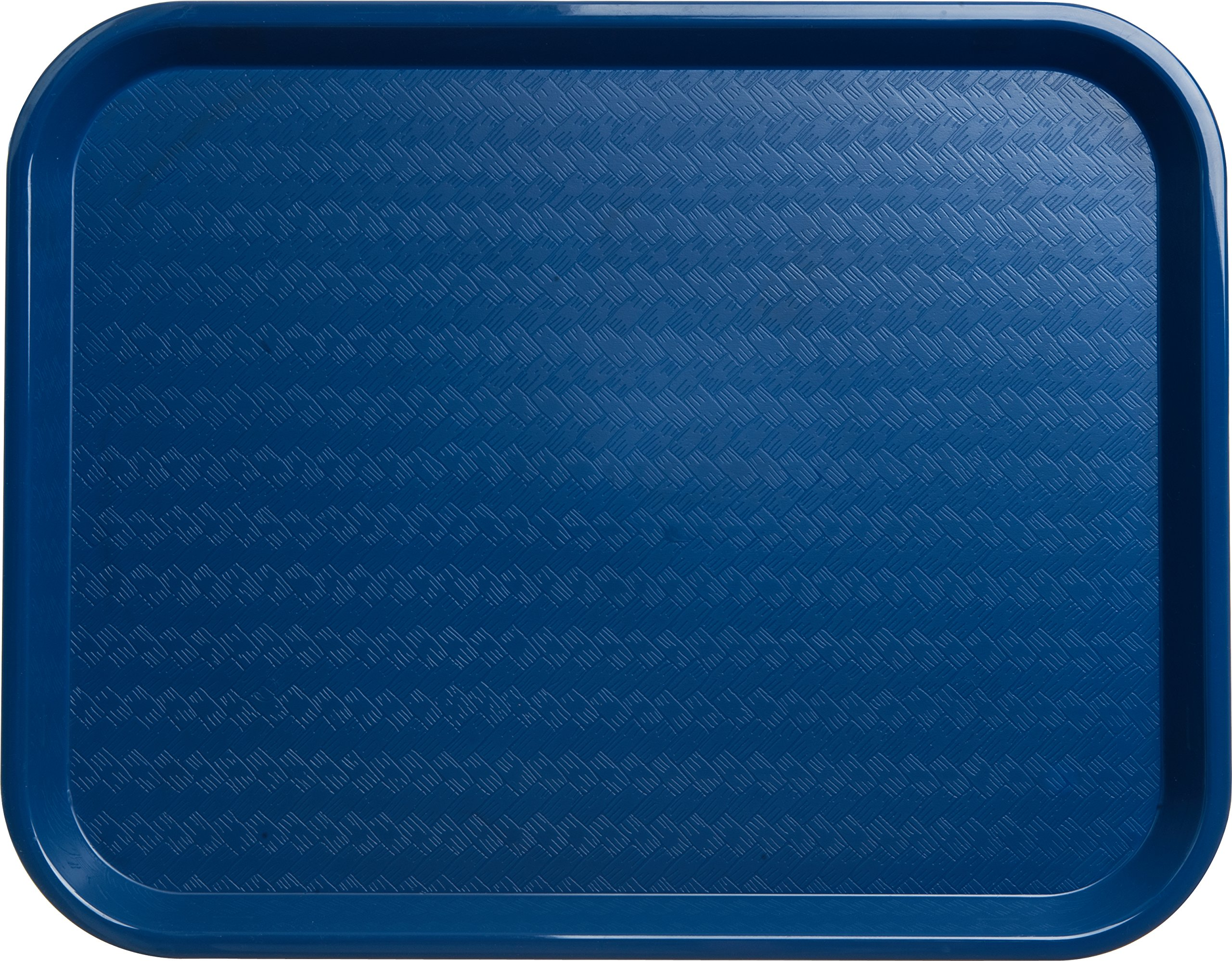 Carlisle CT141814 Café Standard Cafeteria / Fast Food Tray, 14'' x 18'', Blue (Pack of 12) by Carlisle (Image #3)