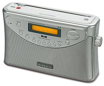 roberts gemini 45 dab fm rds digital radio silver amazon co uk tv rh amazon co uk