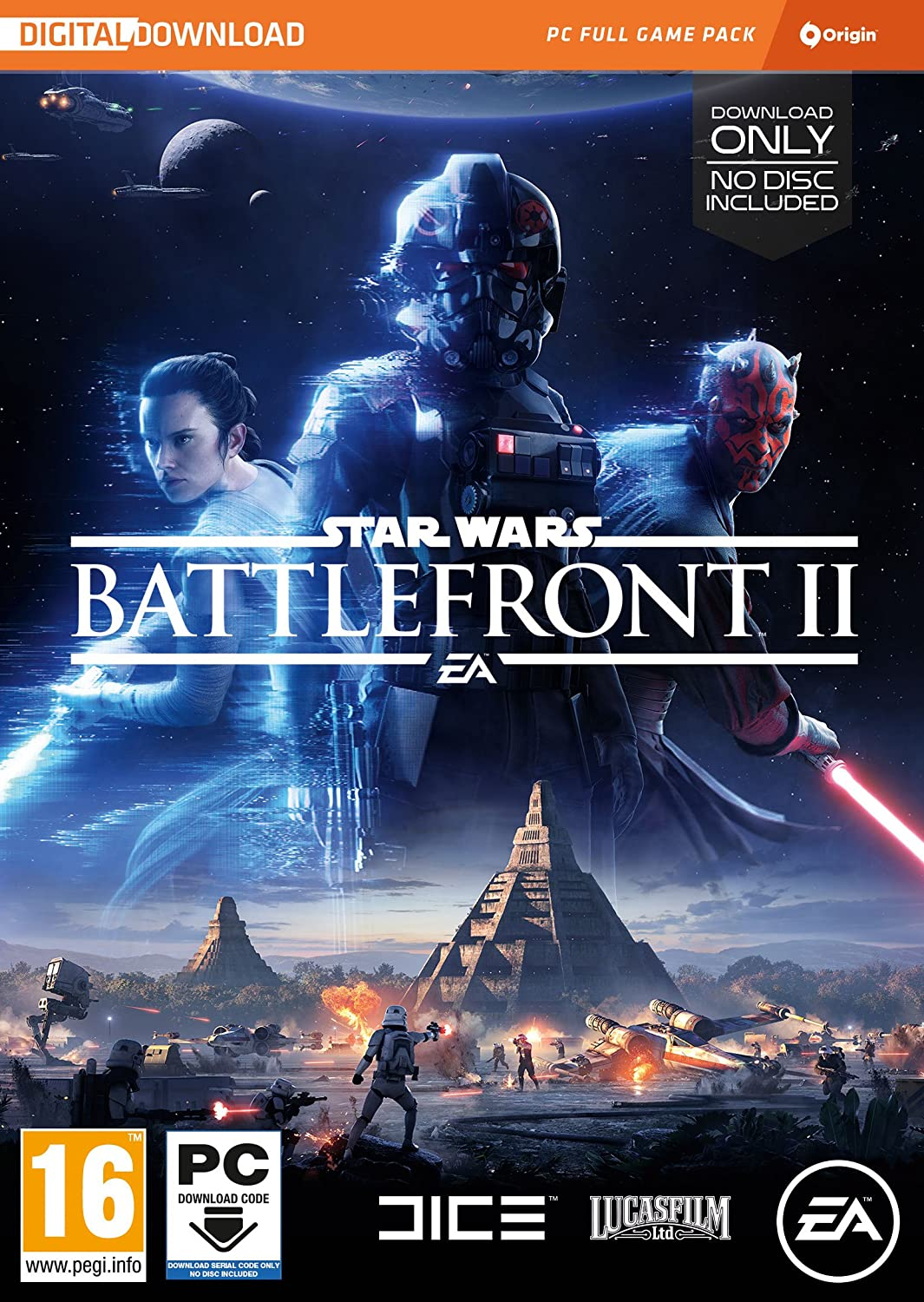 Star Wars Battlefront 2 (PC Code in a Box): Amazon co uk: PC