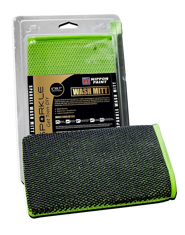 Nippon Paint Sparkle Microfiber Wash Mitt: Amazon.in: Car & Motorbike