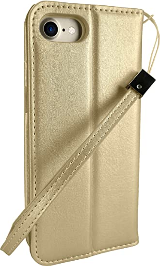 sports shoes b8483 84065 Silk iPhone 7 Plus/8 Plus Wallet Case - FOLIO WALLET Synthetic Leather  Portfolio Flip Card Cover with Kickstand -