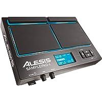Alesis SamplePad 4- MultiPad de Batteries Electronique 4 Zones Sensibles avec 10 Sons de Kit Batterie, Lecteur de Carte SD/SDHC, Effets et Sortie USB/MIDI