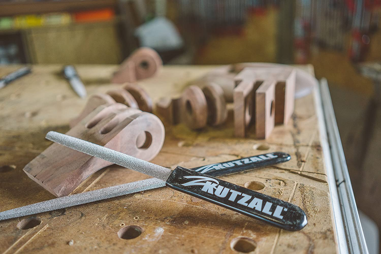 abrasive Hartmetallz/ähne Kutzall Urspr/ünglich flache Hand Raspel feiner 8 203,2 mm